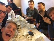 Beim Frühstück in Bad Oeynhausen